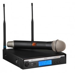 Bosch R300-HD-B Handheld Wireless Microphone System with PL22 Dynamic Microphone