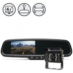 RVS System RVS-770718 Backup Camera With Replacement Mirror