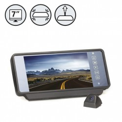 RVS System RVS-Fseries Backup Camera With Commercial Mirror Monitor
