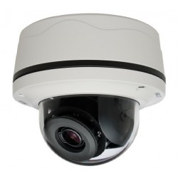 Pelco S-IMP121-1ES-I 1 Megapixel Surface Mount Outdoor Network Dome Camera, 3-10.5mm Lens
