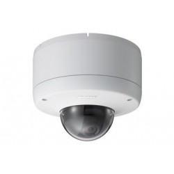 Sony SNC-DF80N.b Network Vandal Resistant Minidome Camera with Dual Stream JPEG/MPEG-4, H.264, Day/Night and PoE, FACTORY CERTIFIED REFURBISHED
