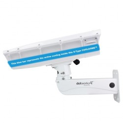 Dotworkz ST-CD-SS S-Type COOLDOME 12V Active Cooling Camera Enclosure