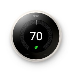 Nest T3017US Thermostat 3rd Gen, White