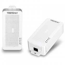 TRENDnet TPL-331EP2K Powerline 200 AV PoE+ Adapter Kit