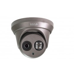 InVid ULT-P4TXIR28B 4 Megapixel Network IP IR Dome Camera, 2.8mm Lens, Black