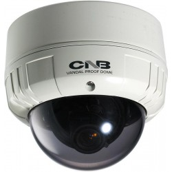 CNB V2867NVF 1/3-inch True Day/Night Vandal-Resistant Dome