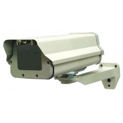 Speco VCH400MT Heavy Duty Outdoor Camera Housing with Bracket, Ivory