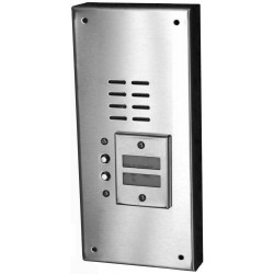 Alpha VI644S02 2 Button Stainless Steel Economy Panel-Surface