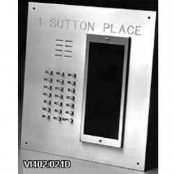 Alpha VI402-234D 234 Buttons VIP Panel Flush with Directory