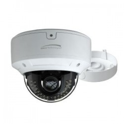 Speco VLDT6M 1080p HD-TVI Dome Outdoor Camera 2.8-12mm Lens, White housing