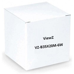 "ViewZ VZ-B35X20M-6W 1/2"" Motorized Zoom Lens w/3-Motor 6-Wire"