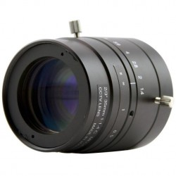 "ViewZ VZ-C35M-3MP 2/3"" 3MP Fixed Lens w/Manual Iris 35mm F1.4 C-Mount"