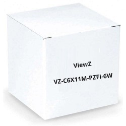 "ViewZ VZ-C6X11M-PZFI-6W 2/3"" Motorized Zoom with 3-Motor, 6-Wire"