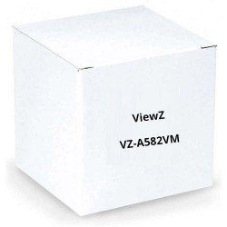 "ViewZ VZ-A582VM 1/3"" Standard Vari-Focal Lens w/Manual 5.5-82.5mm"