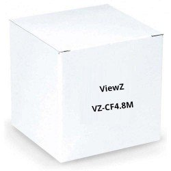 "ViewZ VZ-CF4.8M 2/3"" Fixed Focal Length Manual Iris 4.8mm F1.8 C-Mount"