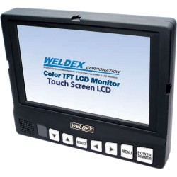 Weldex WDL-8003M 8-in TFT LCD Compact Test Monitor w Integrated Audio, Composite & VGA Inputs