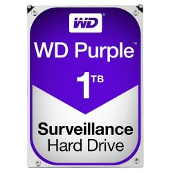 Western Digital WD10PURX HD WD 1TB Purple Surveillance Hard Drive SATA