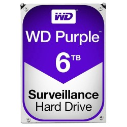 Western Digital WESD-WD60PURX HD WD 6TB Purple Surveillance Hard Drive