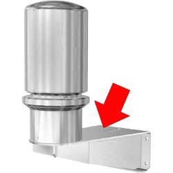 Pelco WXM100 Stainless Steel Wall Mount for ExSite Series
