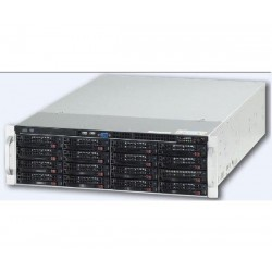 Ganz ZNR-40TB-R 74CH Raid-5 Hot Swap NVR Server w/DVD-RW, 40TB
