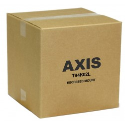 Axis 01155-001 T94K02L Recessed Mount for Dome Camera