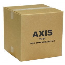 Axis 01329-001 Single Button Name Plate