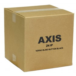 Axis 01523-001 IP Verso Blind Button Black