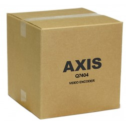 Axis Q7404 0291-004 4-Port Video Encoder w/Two-Way Audio