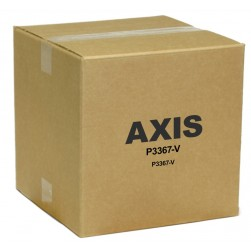 Axis 0406-001 P3367-V 5MP HD Day/Night IP Vandal Dome, 3-9mm