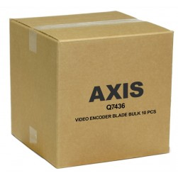 Axis Q7436 6-Channel High Performance Video Encoder Blade, 10-Pack