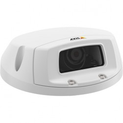 Axis 0662-001 P3905-RE 2 Megapixel Outdoor PoE Network Camera, 6mm Lens, RJ45 Connector