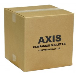Axis 0959-001 Companion Bullet LE 2 Megapixel Outdoor Full HD IR Network Camera, 2.8mm Lens