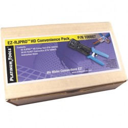 Platinum Tools 100007 EZ-RJPRO HD Crimp Tool and (50) Cat5e Connectors