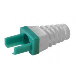 Platinum Tools 100030GR-C Strain Relief for Cat6, 50pc. Clamshell