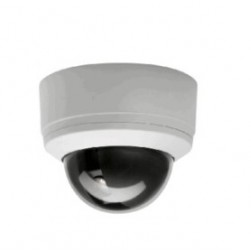 Pelco SD4-B0 Spectra Indoor Dome System, Mini Smoked Bubble, NTSC, Black, 10X Lens