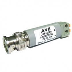 AVE 120001 Mil-Spec UTP Video Transceiver with 1000' Range In Color