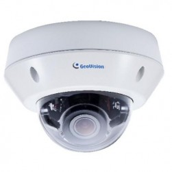 Geovision 125-VD2712-AW0 GV-VD2712 2MP IR IP Dome Camera 2.8-12mm Lens