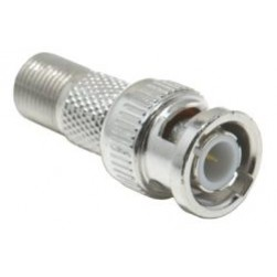 Platinum Tools 18310 BNC Male to F Female Adapter
