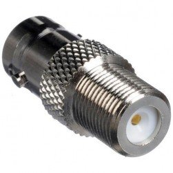 Platinum Tools 18303 BNC Female to F Female Adapter