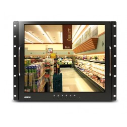 Orion 19RCR 19-inch LCD Rack Mount Ready Metal Cabinet Monitor