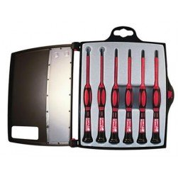 Platinum Tools 19110 6-Pc. 1 KV Insulated Screwdriver Set