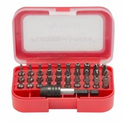 Platinum Tools 19130C 30 Piece Security Bit Set