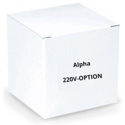 Alpha 220V-OPTION Optional 220VAC Power Supply