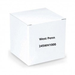 West Penn 245WH1000 16/4 Unshielded CMR Cable 1000.Ft White