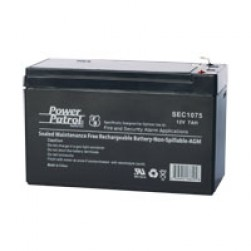 Linear B-12VDC7A Backup Battery for eMerge E3-Series - 12 VDC 7 AH