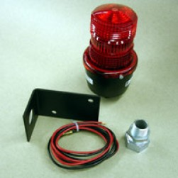 Linear 2510-335 Flashing Strobe Signal Light (Red)