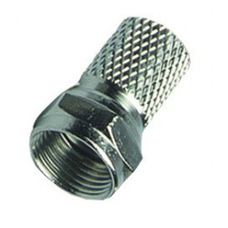 DataComm 30-1101 Crimpless Male Twist-On F-Connector, RG-59