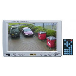 Cantek 318GL 7-inch High Resolution Color LCD Monitor w/ Remote