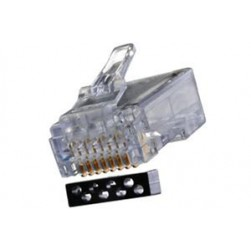 West Penn 32-6198UL RJ45 Connector for CAT6