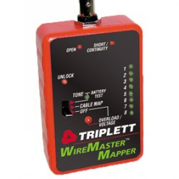 Triplett 3281 Wire and Cable Mapping Kit with Tracer Tone and Carrying Case